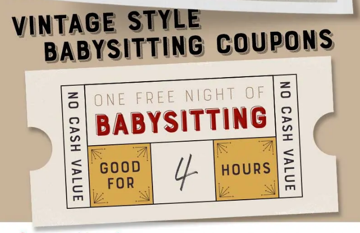 vintage_style_free_babysitting_coupon_template