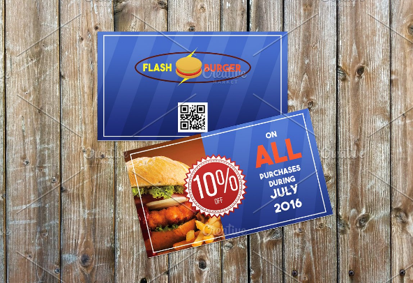 fast_food_restaurant_coupon_template