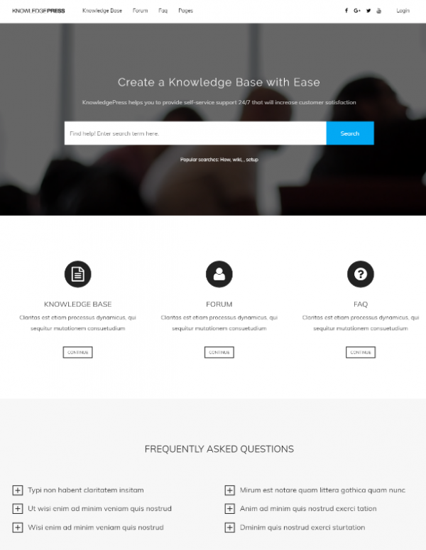 knowledge_base_faq_word_press_theme
