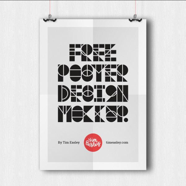 free_folded_poster_design_mockup