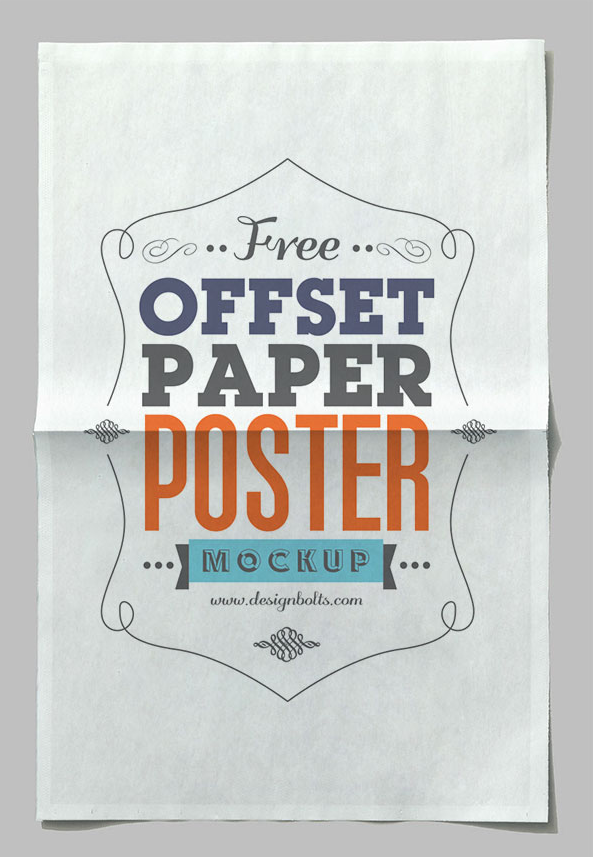 free_offset_paper_horizontal_poster_mockup_psd