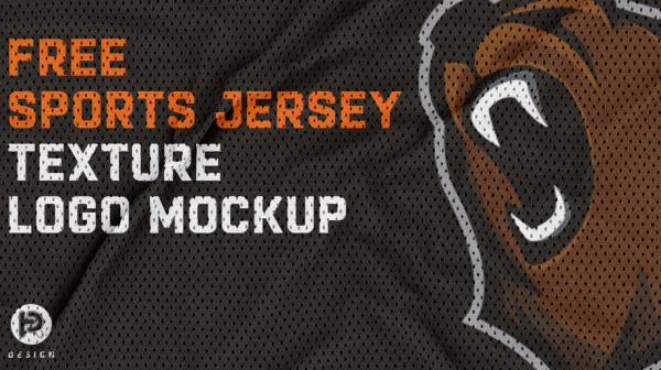 free_jersey_texture_logo_mockup