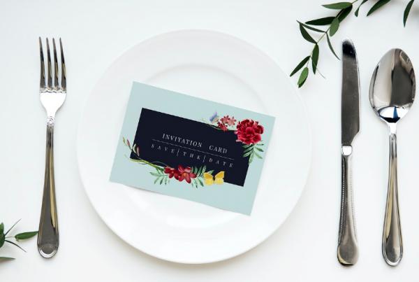 invitation_on_a_plate_setting